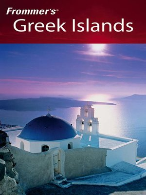 cover image of Frommer's Greek Islands